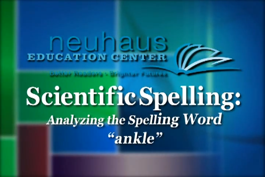 Analyzing a Word