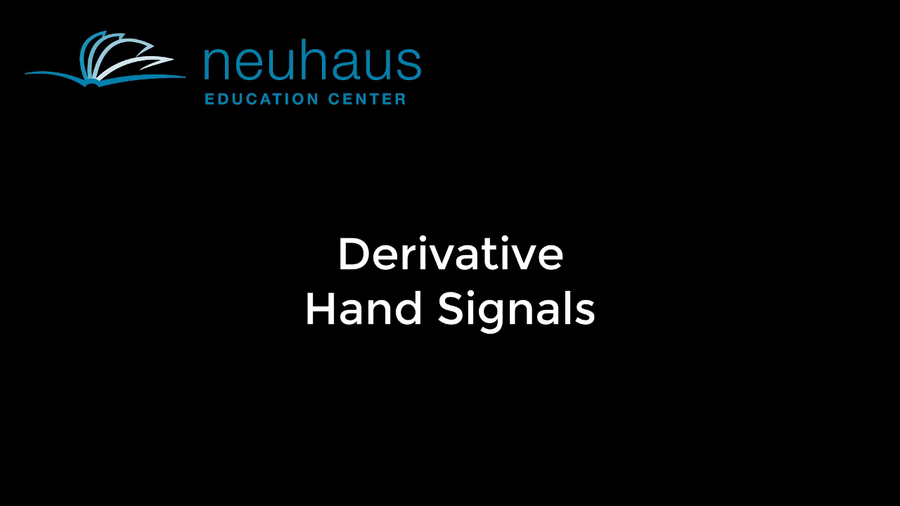 Hand Signals - Derivative