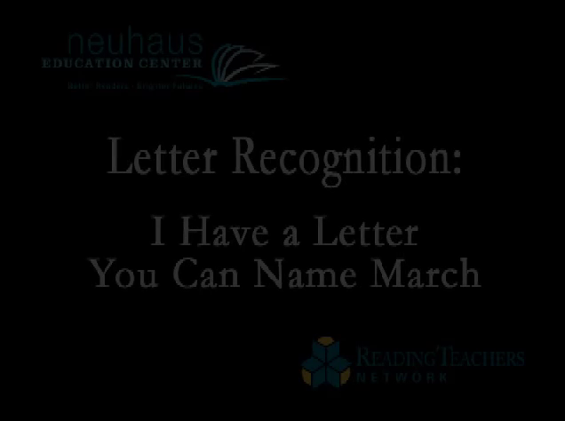 Letter Name March