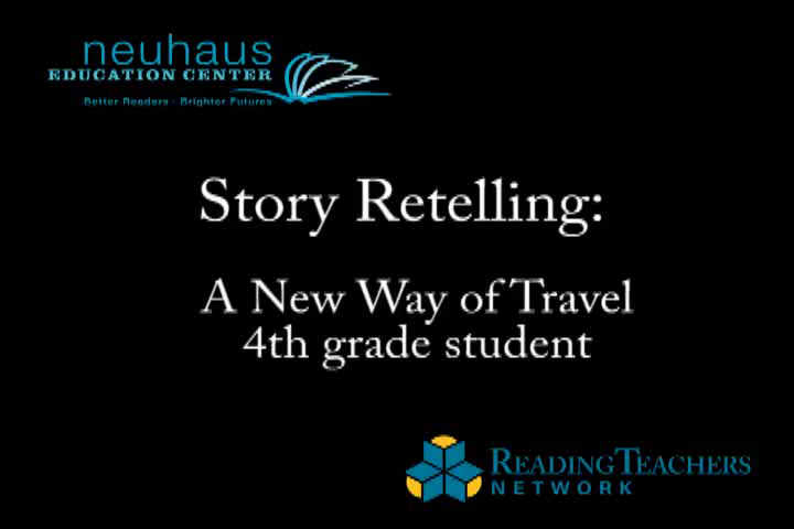 Oral Language - Story Retelling - A New Way of Travel