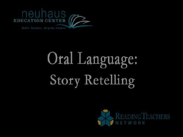 Oral Language - Story Retelling - The Big Pink Pig