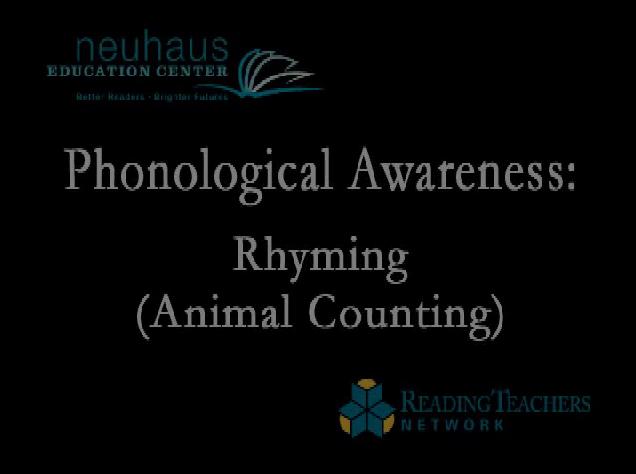 Rhyming - Animal Counting