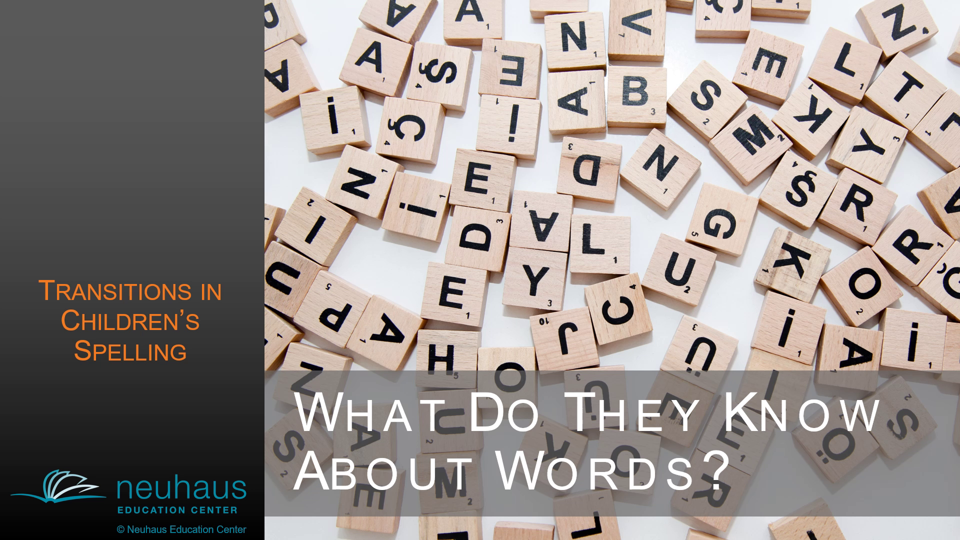 What Do They Know About Words? Transitions in Children's Spelling