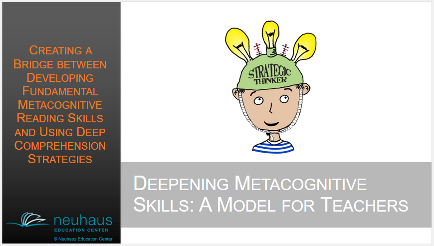 Deepening Metacognitive Skills