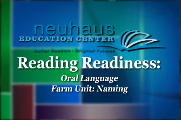 Oral Language - Naming, Farm Unit - Kindergarten