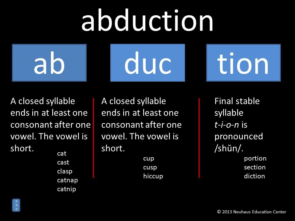 abduction - pronunciation
