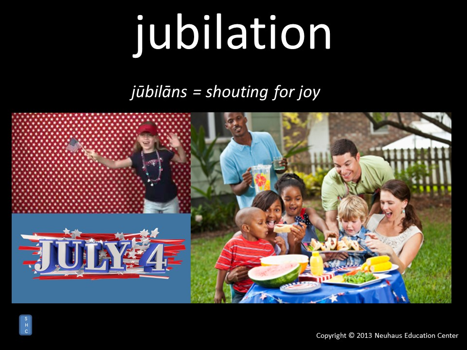 jubilation - meaning