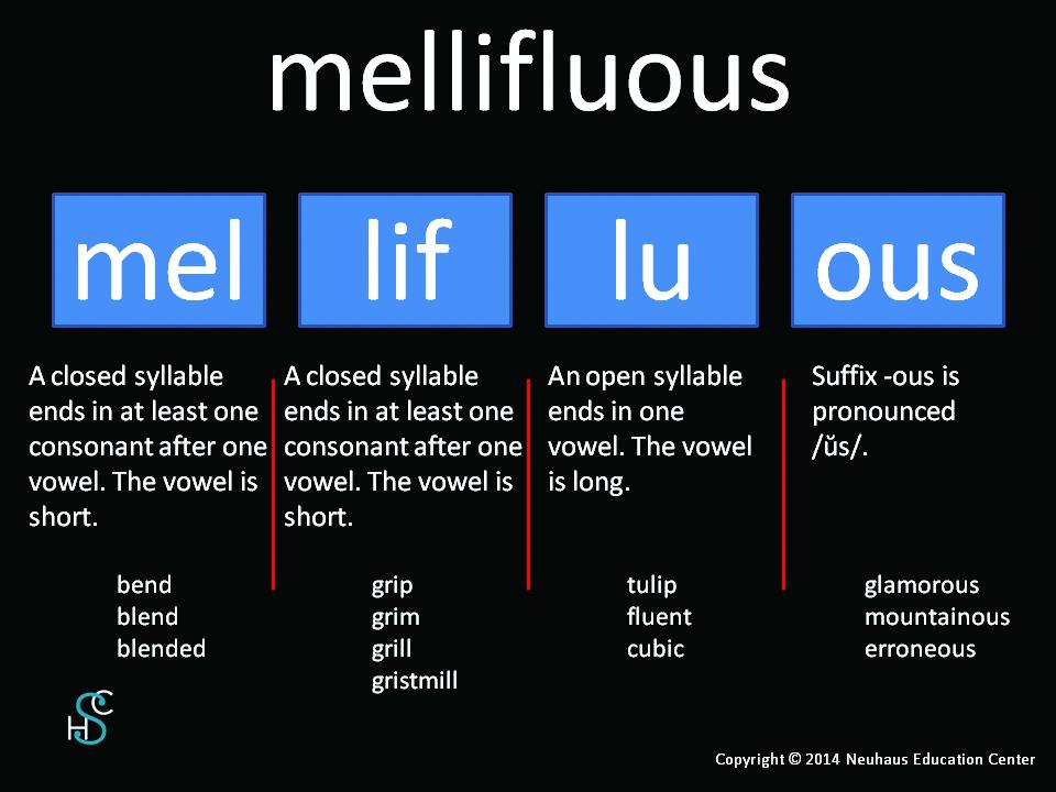 mellifluous - pronunciation