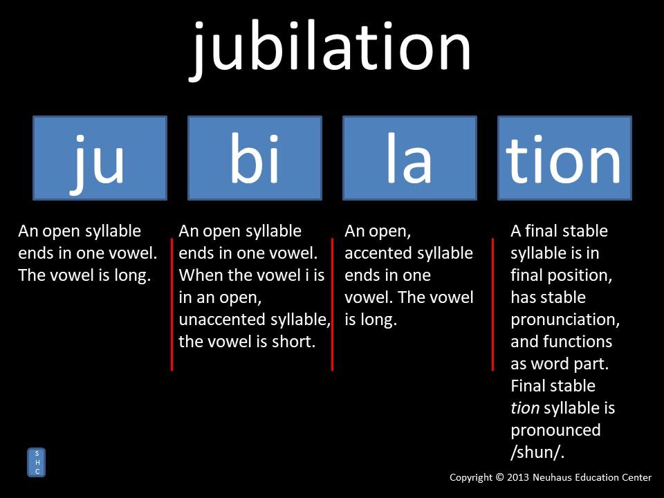jubilation - pronunciation