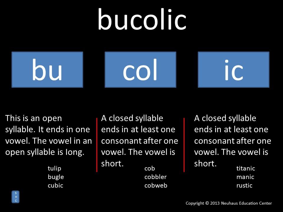 bucolic - pronunciation