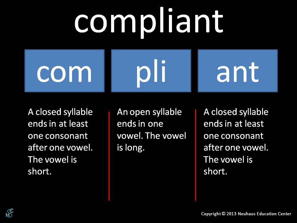 compliant - pronunciation