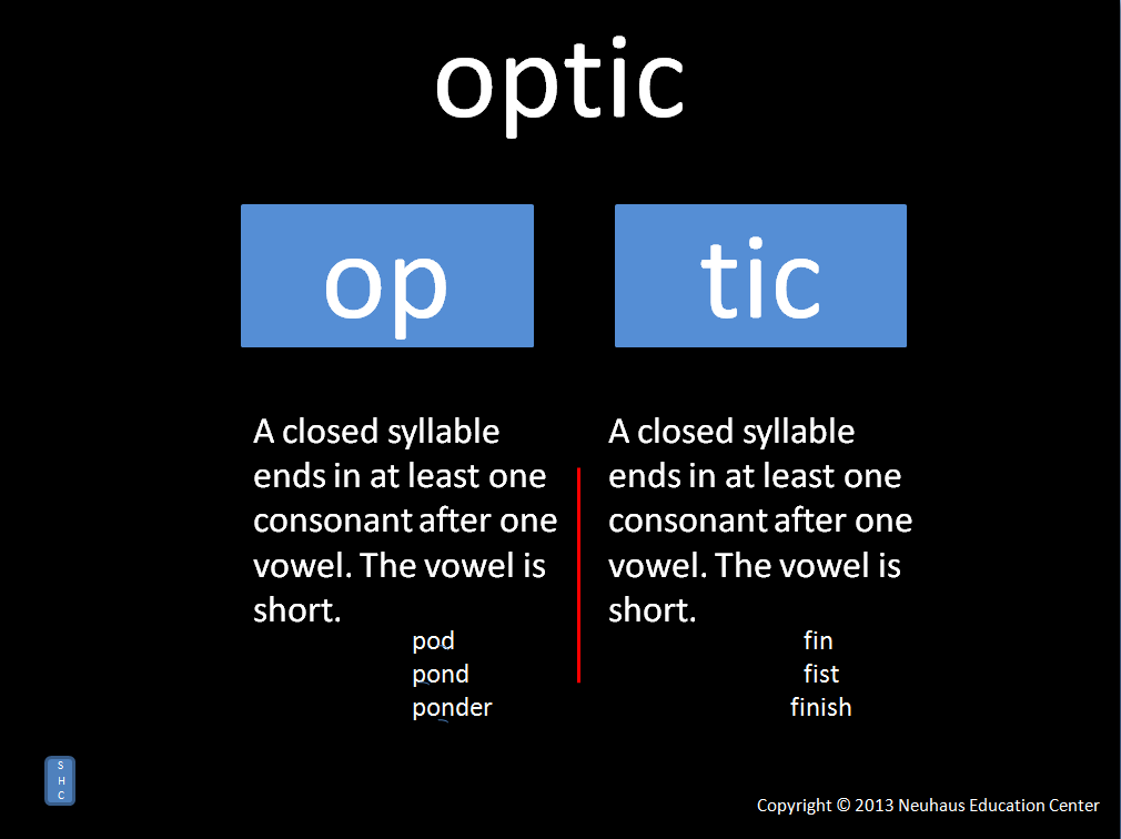 optic - pronunciation