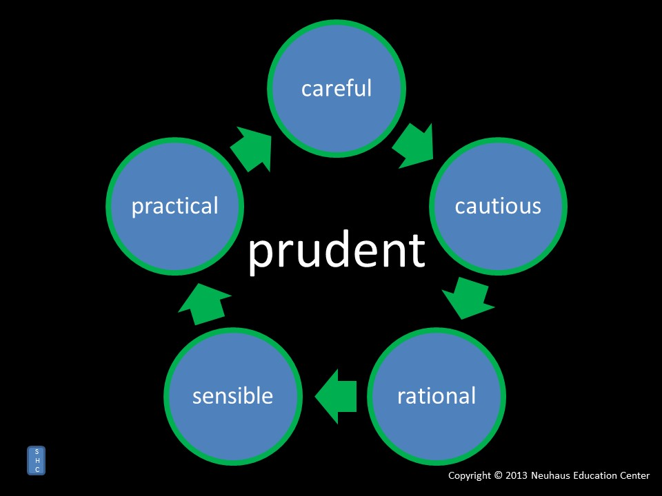 prudent - meaning