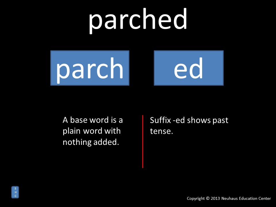 parched - meaning