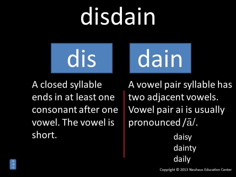 disdain - pronunciation