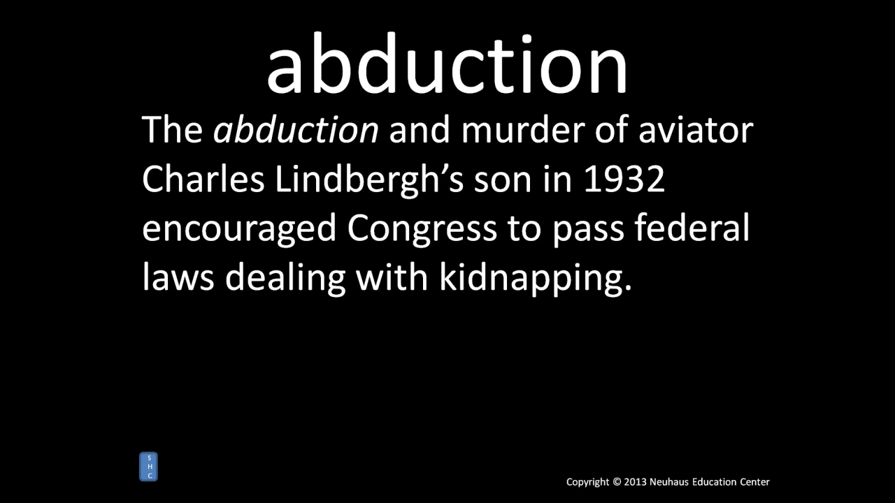 abduction - meaning