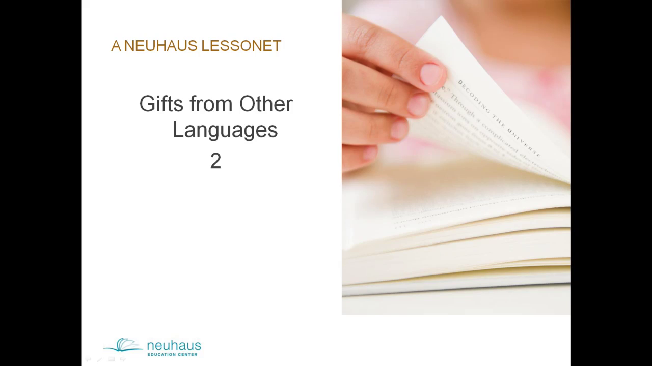 Gifts from Other Languages 2 (c=s)
