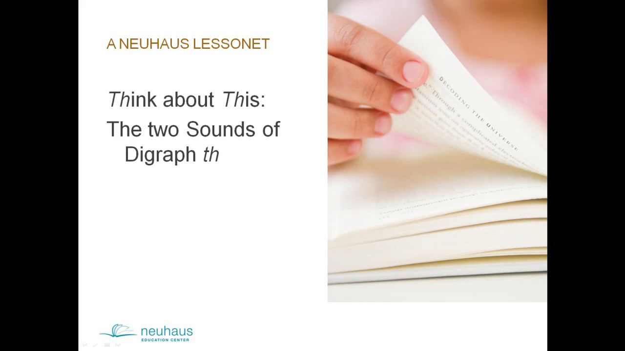 The two Sounds of Digraph th